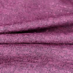 Tissu Acrylique Lurex Bordeaux