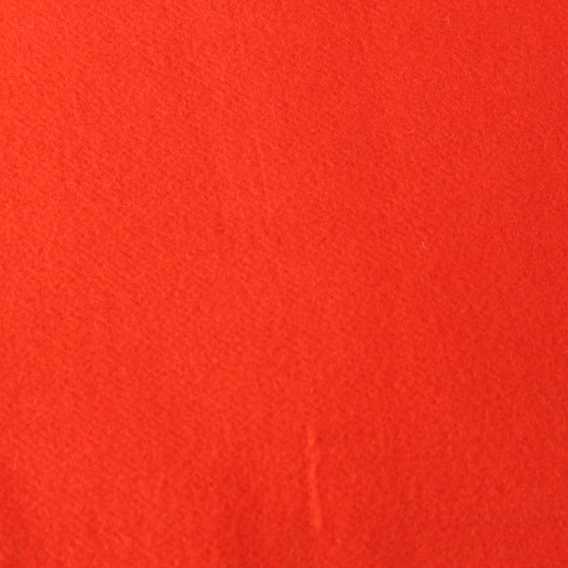 tissus Lainage Uni Couleur Rouge