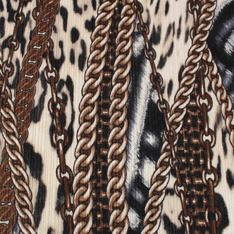 Tissus Jersey lourd Motif Chaines