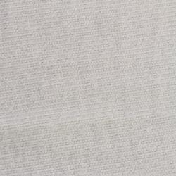 coupons tissu éponge côtelé  blanc