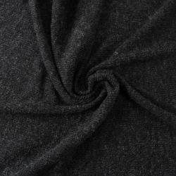 Tissu côtelé couleur noir