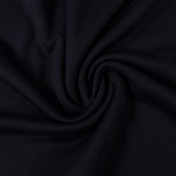 Tissu Piqué De Coton Couleur Marine