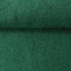 Tissu Lainage Bouclette Léger Vert Emeraude