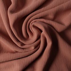 Tissus Microfibre froissé vieux rose