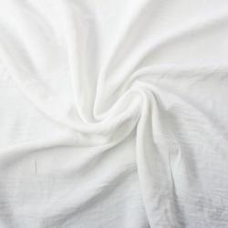 Microfibre froissé élasthanne couleur blanc