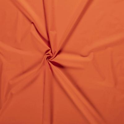 Popeline de Coton Orange