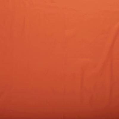 Popeline de Coton Couleur Orange