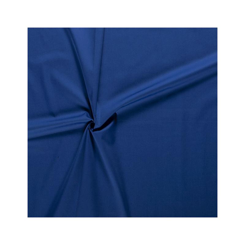Tissus Popeline de Coton Bleu Roi