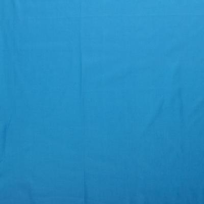 Popeline de Coton Couleur Aqua