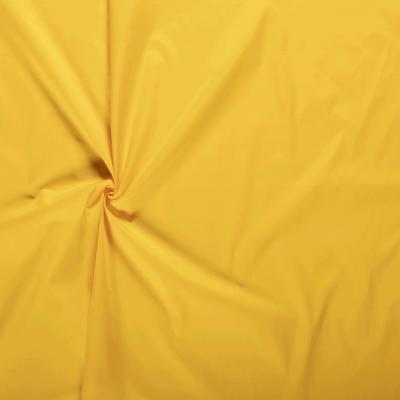 tissus Popeline de Coton Couleur Jaune