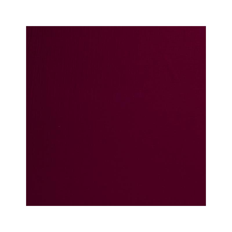 Double Gaze Couleur Bordeaux