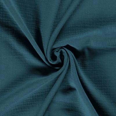Tissus Double Gaze Couleur Vert Foncé