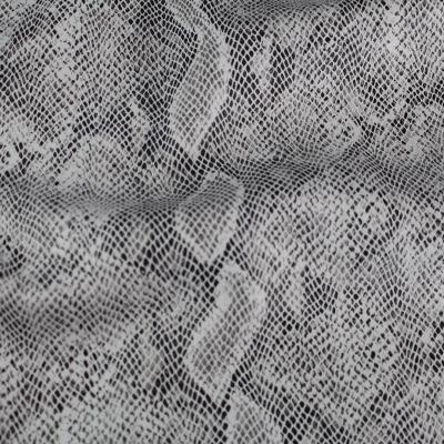 tissu Scuba daim Python couleur Blanc