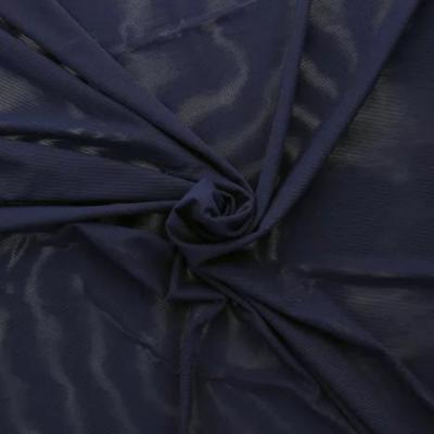 Tissu lingerie Resille Marine