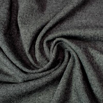 crêpe mélange viscose et polyester couleur gris foncé