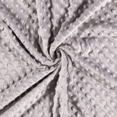 Tissu Polaire Gris Clair