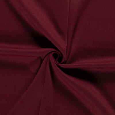 Tissu Sweat Epais Couleur Bordeaux