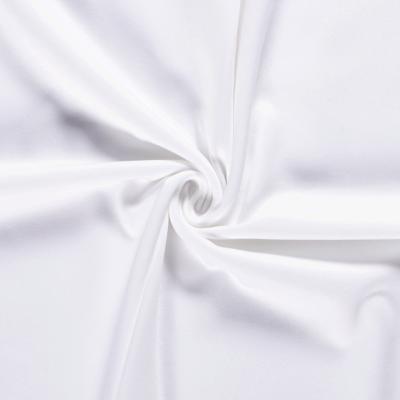 Tissu Sweat Epais Couleur Blanc Optique