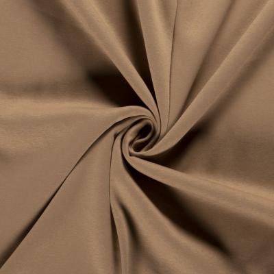 Tissu Sweat Epais Couleur Beige Foncé matière douce, fluide et chaude