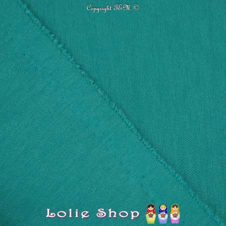 Maille Jersey Milano Uni Couleur Vert Turquoise