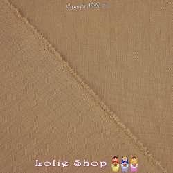 Maille Jersey Milano Uni Couleur Mordoré