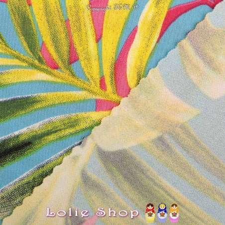 Jersey Maillot SHEILA Couleur Bleu Céruléen