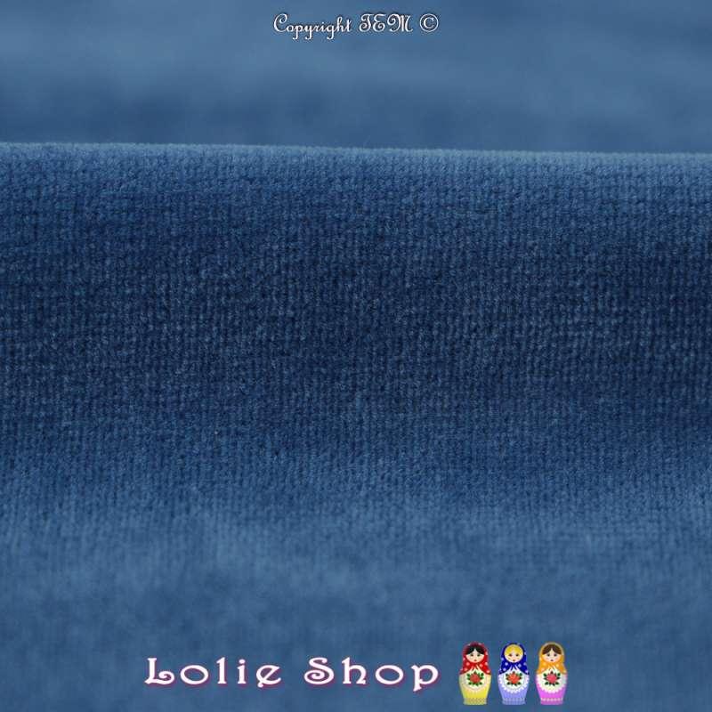 Velours Bébé Ultra Doux Couleur Bleu Roi