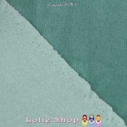 Velours Bébé Ultra Doux Couleur Vert Mousse