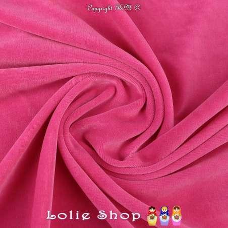 Velours Bébé Ultra Doux Couleur Baby Pink
