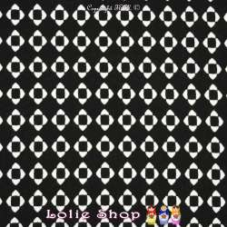 Jersey Viscose Imprimé Motif Géométrique D'art Déco