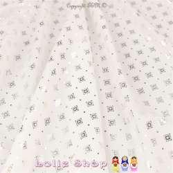 Tissu Microfibre Blanc...