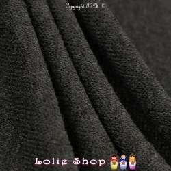 Tricot Maille Fine Entrelacées Gamme BLOOM LITE Noir