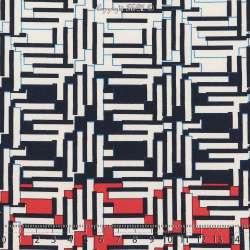 Microfibre Élasthanne Imprimé Pixels Abstrait Fond Blanc. 15 x 15 Cm Photo.