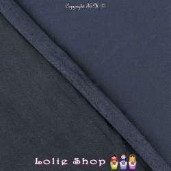 Tissu Suédine Légère / Chamoisine Uni Couleur Bleu de Berlin