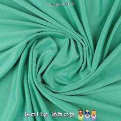 Tissu Suédine Légère / Chamoisine Uni Couleur Vert Menthe à L'eau