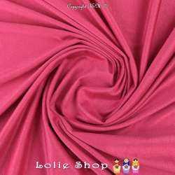 Tissu Suédine Légère / Chamoisine Uni Couleur Fuchsia