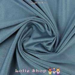 Tissu Suédine Légère / Chamoisine Uni Couleur Indigo