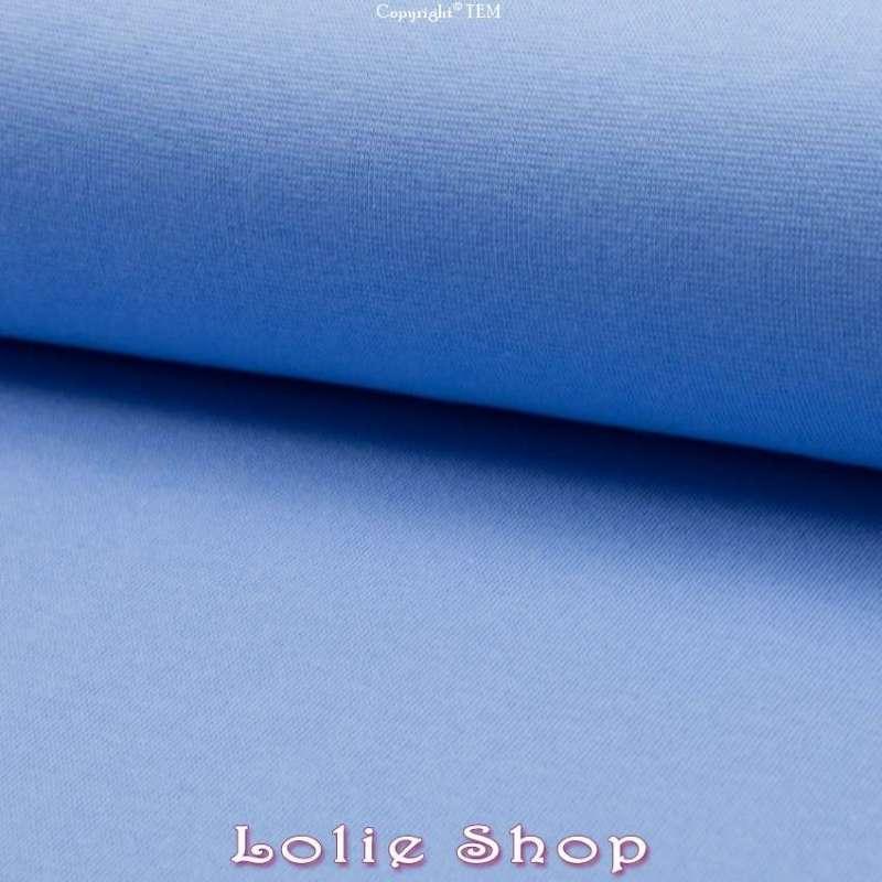 Jersey Bord Côte Tubulaire Bleu Maya