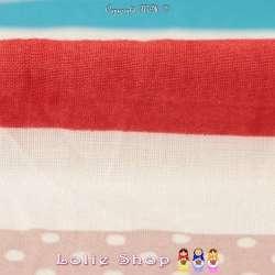 Tissu Viscose Imprimé Motif Fleurs À Base Ton Corail