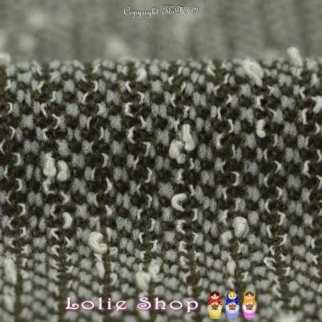 tissus Maille Texturé Bouclette
