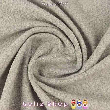 Jacquard-tissus Maille Toucher Texturé