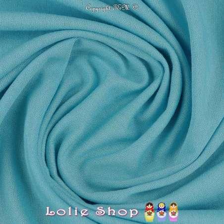 Jersey Viscose Uni Couleur Bleu Ciel