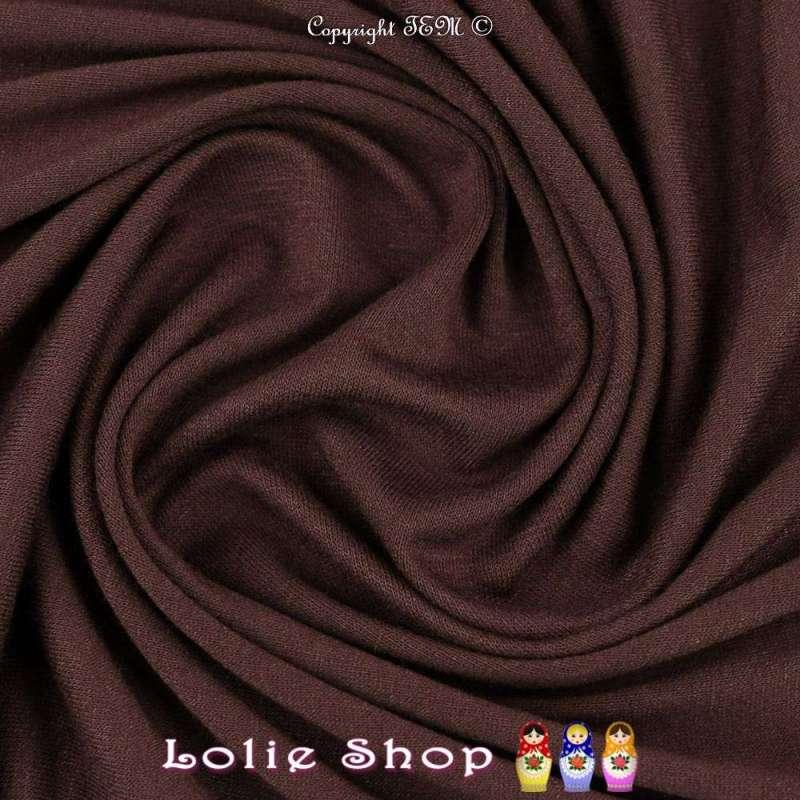 Jersey Viscose Uni Couleur Blet