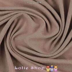 Jersey Viscose Uni Couleur Taupe Clair