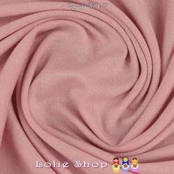 Jersey Viscose Uni Couleur Rose Pale