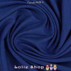 Jersey Viscose Uni Couleur Bleu Roi