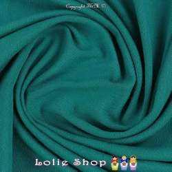 Jersey Viscose Uni Couleur Vert Emeraude