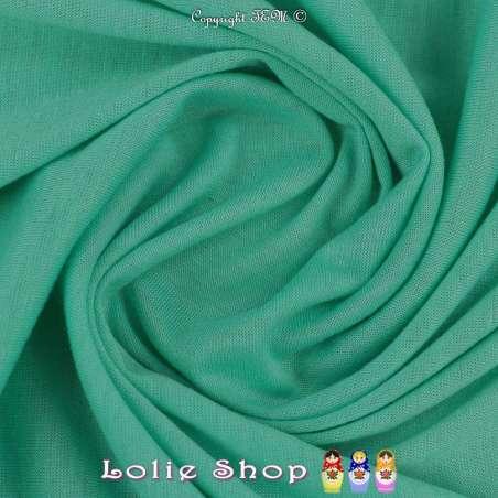 Jersey Viscose Uni Couleur Vert D'eau