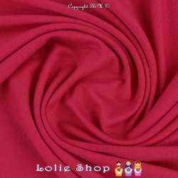 Jersey Viscose Uni Couleur Fuchsia