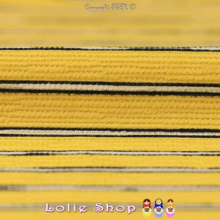 Double Crêpe Modèle MAÏLEEN Rayures
